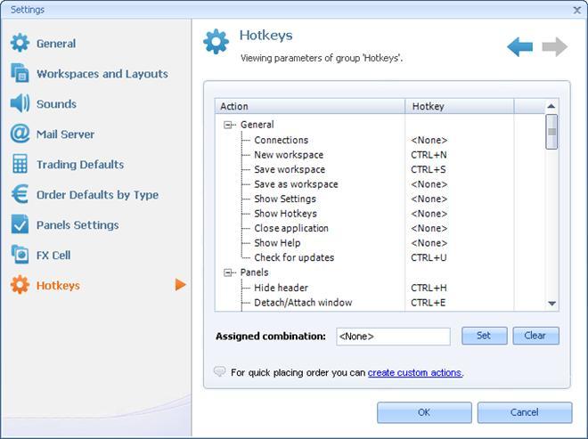 Trading Platform Hotkeys   autoforextradingsoftware.com